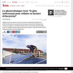 """Le photovoltaïque reste """"le plus intéressant pour réduire sa facture d'électricité"""" - Immo"""