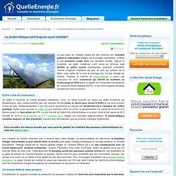 Le photovoltaïque: est-il toujours aussi rentable?