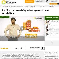 Le film photovoltaïque transparent : une révolution