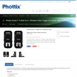 Phottix Strato II Multi 5-in-1 Wireless Trigger
