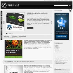 PHP.help! : resources for web developers