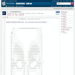 [PHP] ~=<[ #OPLIBERATION ]>=~