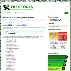 PHPKode, script PHP gratuits à foison !