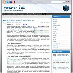 phpScheduleIt. Sistema de reserva de recursos