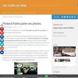 Phrase.it Faites parler vos photos.