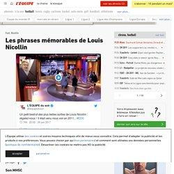 Les phrases mémorables de Louis Nicollin - L'Équipe
