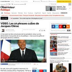 Les phrases cultes de Jacques Chirac en 10 vidéos