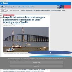 La qualité des cours d'eau et des nappes phréatiques très mauvaise en Loire-Atlantique et en Vendée