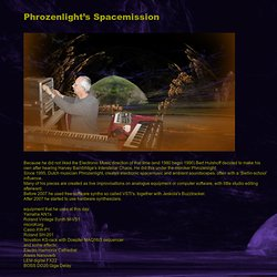 Phrozenlight's Spacemission