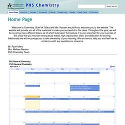 PHS Chemistry