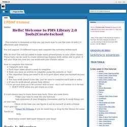 PHSlib 2.0 / FrontPage