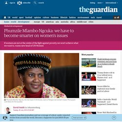 Phumzile Mlambo-Ngcuka: we have to become smarter on women's issues