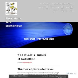 PhyKhêmia 1ère scientifique