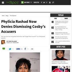 Phylicia Rashad Now Denies Dismissing Cosby's Accusers