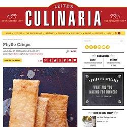 Phyllo Crisps Recipe