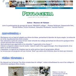 Phylogenia logiciel