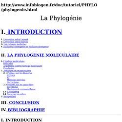 Phylogénie