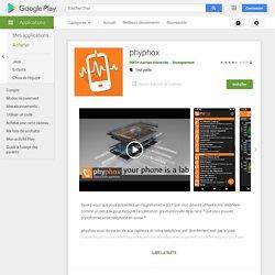 phyphox – App GooglePlay