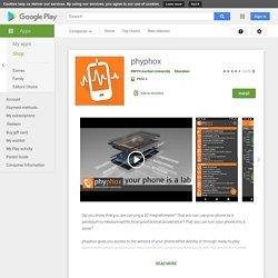 Phyphox - Apps on Google Play