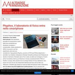Phyphox, il laboratorio di fisica entra nello smartphone