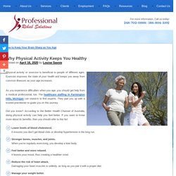 Why Physical Activity Keeps You Healthy
