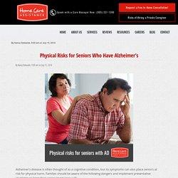 Physical Dangers for Seniors with Alzheimer's