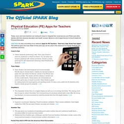 Physical Education (PE) Apps for Teachers