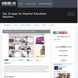 Top 10 Apps for Physical Education Teachers