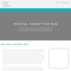 Physical therapy makes your health better