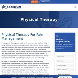 Get Physical Therapy in Los Angeles, CA