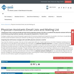 Physician Assistants Mailing Addresses
