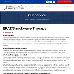 EPAT Treatment Trigger Points