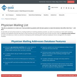 Physicians Email List
