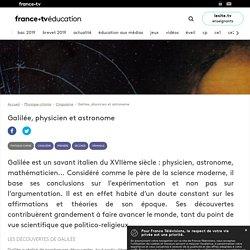 Galilée, physicien et astronome - Article