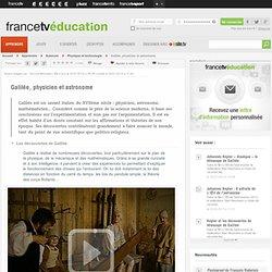 Galilée, physicien et astronome