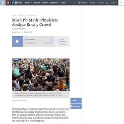 Mosh Pit Math: Physicists Analyze Rowdy Crowd