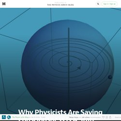 Why Physicists Are Saying Consciousness Is A State Of Matter, Like a Solid, A Liquid Or A Gas — The Physics arXiv Blog