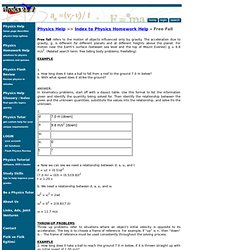 Quality online physics homework help at your first request. | Eduboard ...