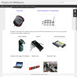 Physics 4A RMNiduaza: Lab 7: Centripetal Force