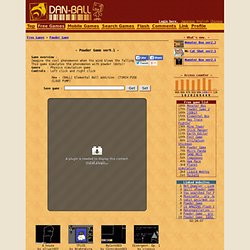 Web game | Powder Game - Web Games Site DAN-BALL