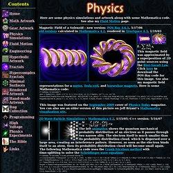 Physics Simulations and Artwork