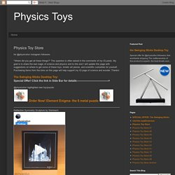 Physics Toys: Physics Toy Store