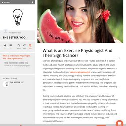What is an Exercise Physiologist And Their Significance?