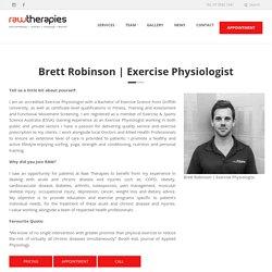 Brett Robinson - Gold Coast Exercise Physiologist