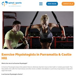 Exercise Physiologists in Parramatta & Castle Hill - Physiotherapist & Chiropractors Parramatta, Castle Hill, Wetherill Park
