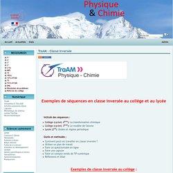 Physique Chimie Académie de Grenoble - Classe inversée