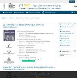 Course: Physique-chimie et mathématiques 1ère STL