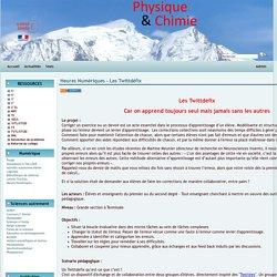 Physique Chimie Académie de Grenoble - Heures Numériques - Les Twittdéfix