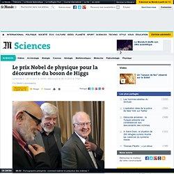 Le Nobel de physique récompense la découverte du boson de Higgs