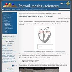 La physique au service de la santé et la sécurité - Portail maths-sciences
